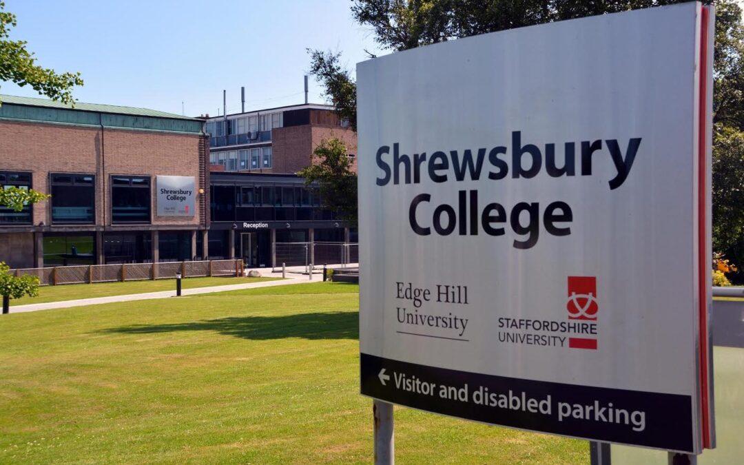Shrewsbury College Case Study